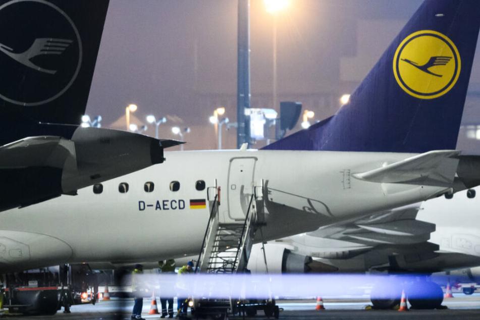 Bei einem Streik der Flugbegleiter könnten zahlreiche Lufthansa-Maschinen am Boden bleiben.