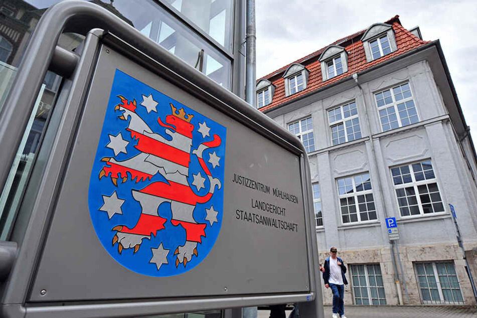 Am Landgericht in Mühlhausen sollten die zwei Zeugen angehört werden.