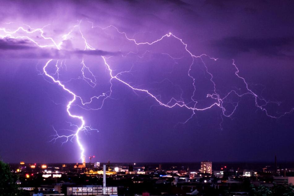 Im Freistaat Bayern kann es in den kommenden Tagen zu Gewittern kommen.