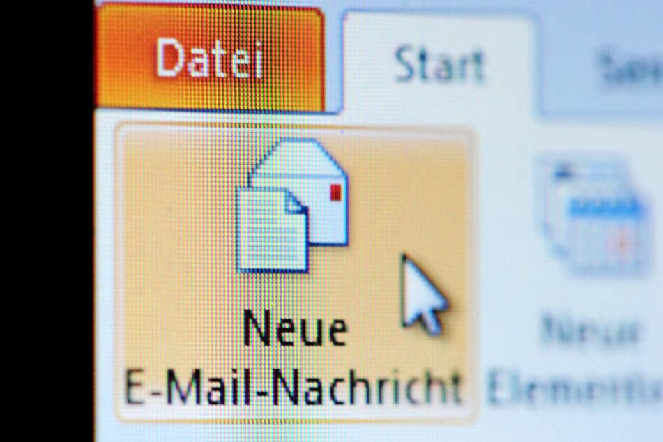 Neue E-Mail (Symbolbild).