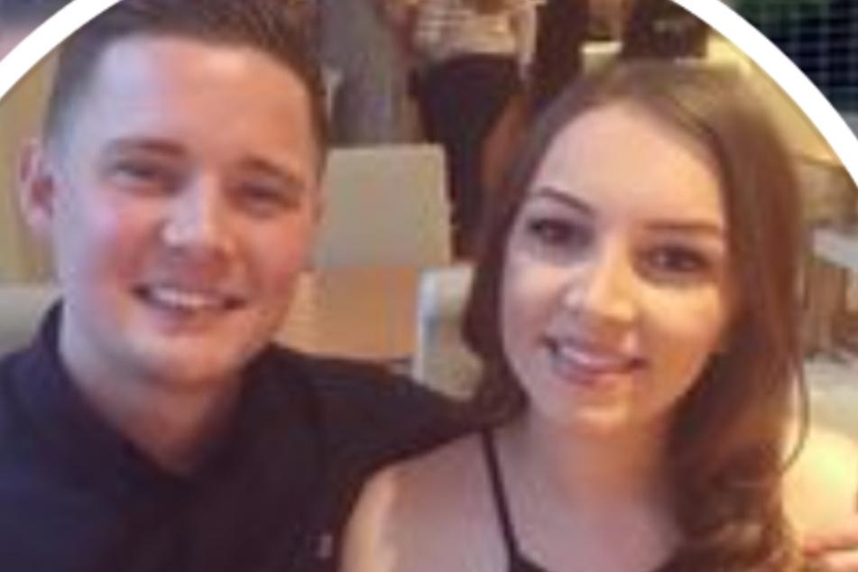 Amy Williams (24) mit ihrem neuen Freund Samuel.