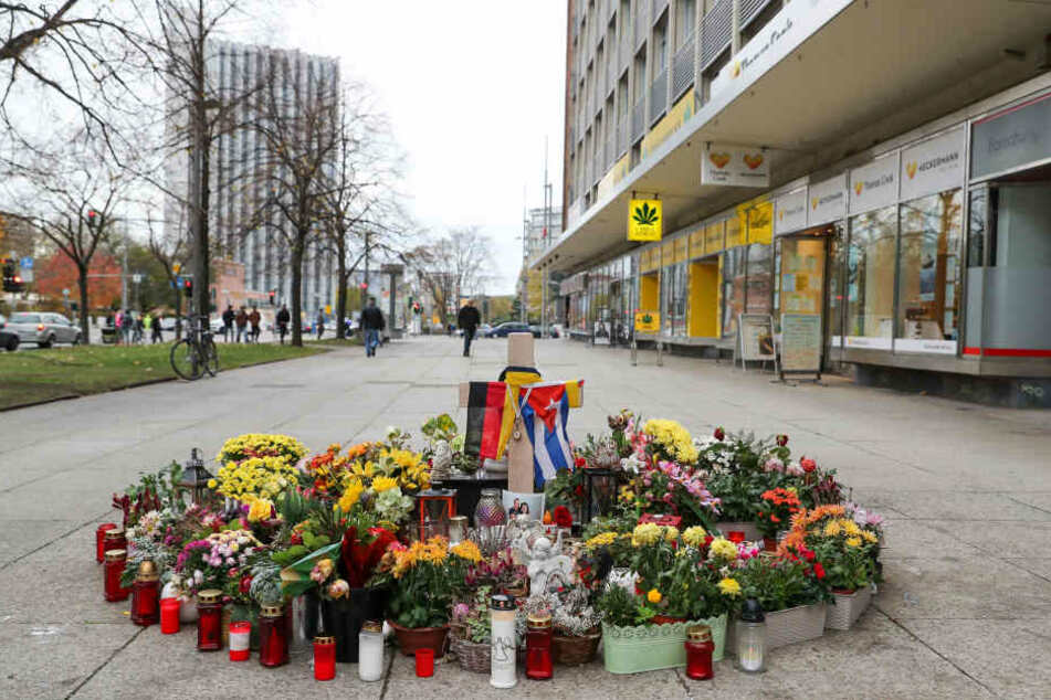 Hier starb Ende August ein Chemnitzer aufgrund einer Messerattacke.