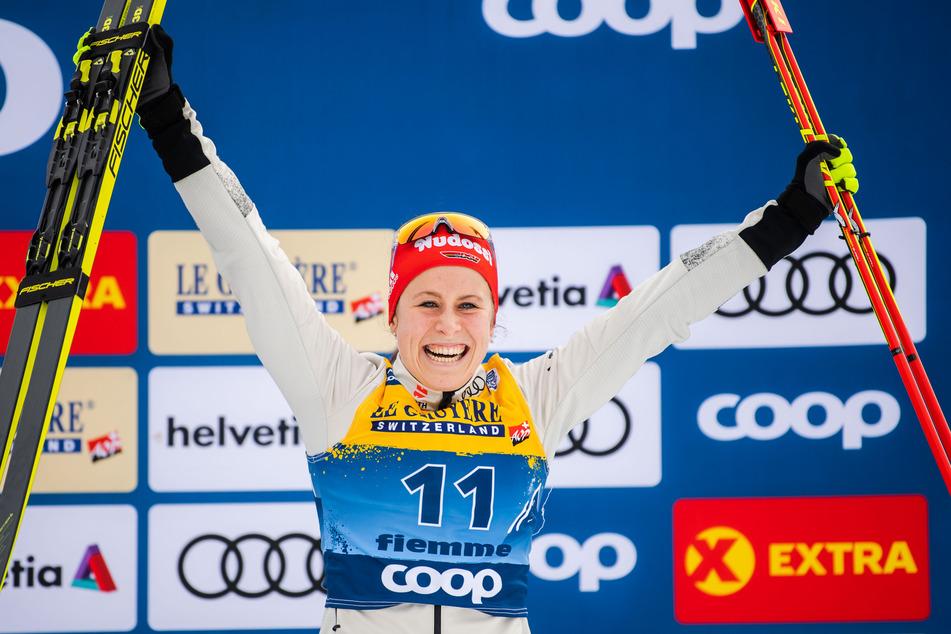 Katharina Hennig (24) ist auf Kurs und hat bei der Tour de Ski gute Platzierungen eingefahren. (Archivbild)