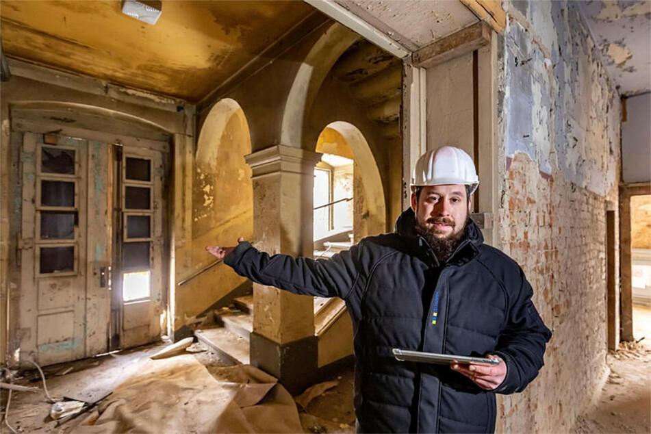 Chemnitz: Einstiger Firmensitz mit Weltberühmtheit: Villa Victoria soll im alten Glanz erstrahlen