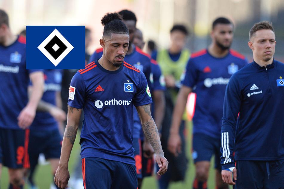 """HSV zerlegt sich nach Würzburg-Debakel selbst: """"War einfach viel zu wenig"""""""