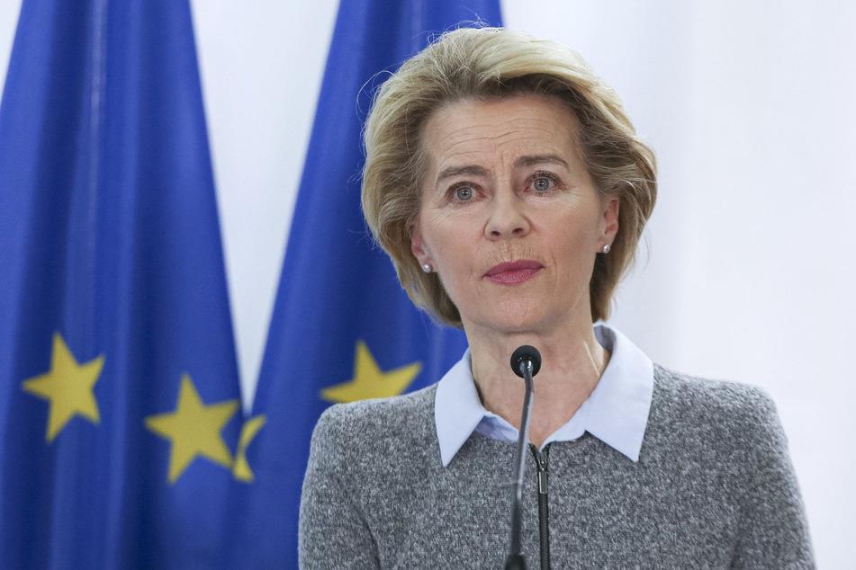 Ursula von der Leyen (61, CDU), heutige Präsidentin der Europäischen Kommission.