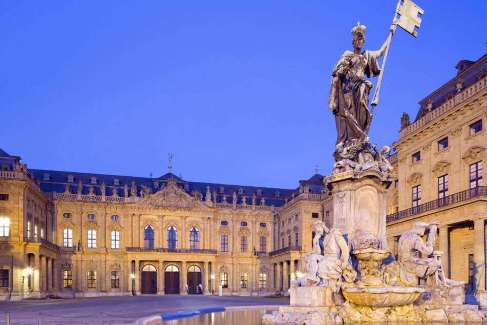 Das Würzburger Schloss.