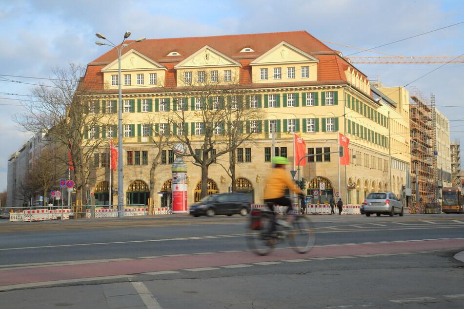 Die Zentrale der Ostsächsischen Sparkasse am Güntzplatz in Dresden ist Anlaufstelle für Tausende Firmen- und Privatkunden. (Archivbild)