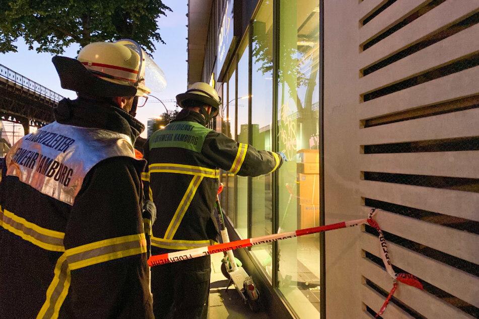 Gefährliches Graffiti sorgt für Einsatz der Feuerwehr