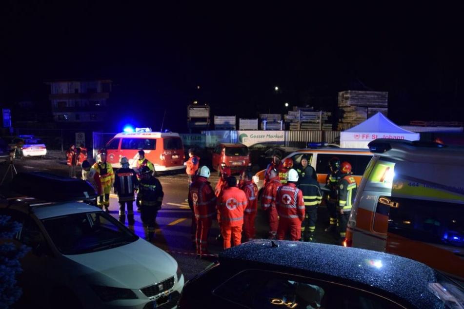 Sechs Menschen wurden bei dem Unfall getötet.