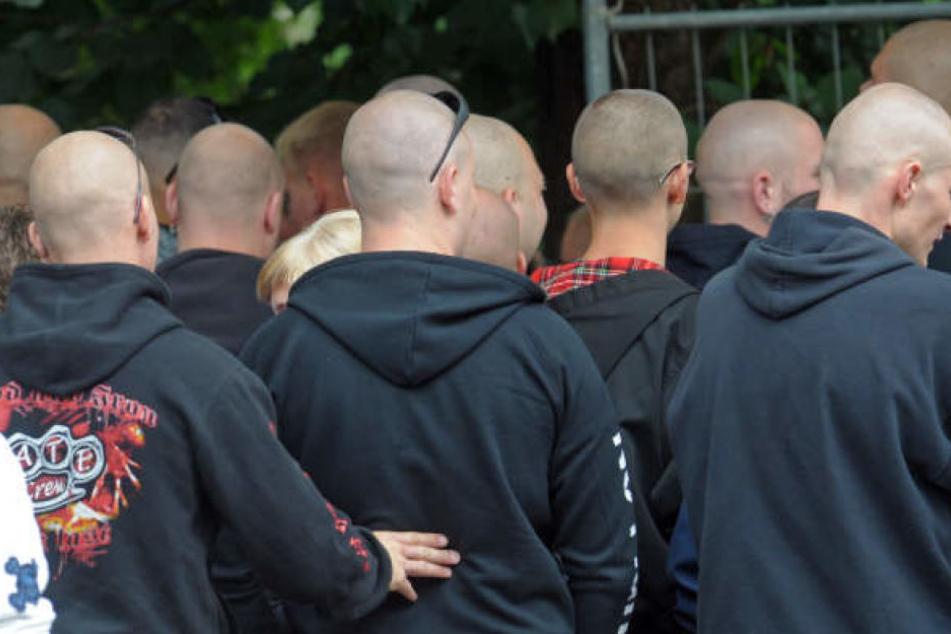 Tausende Besucher werden zu dem Neonazi-Festival am 20. und 21. April im ostsächsischen Ostritz erwartet. (Symbolbild)
