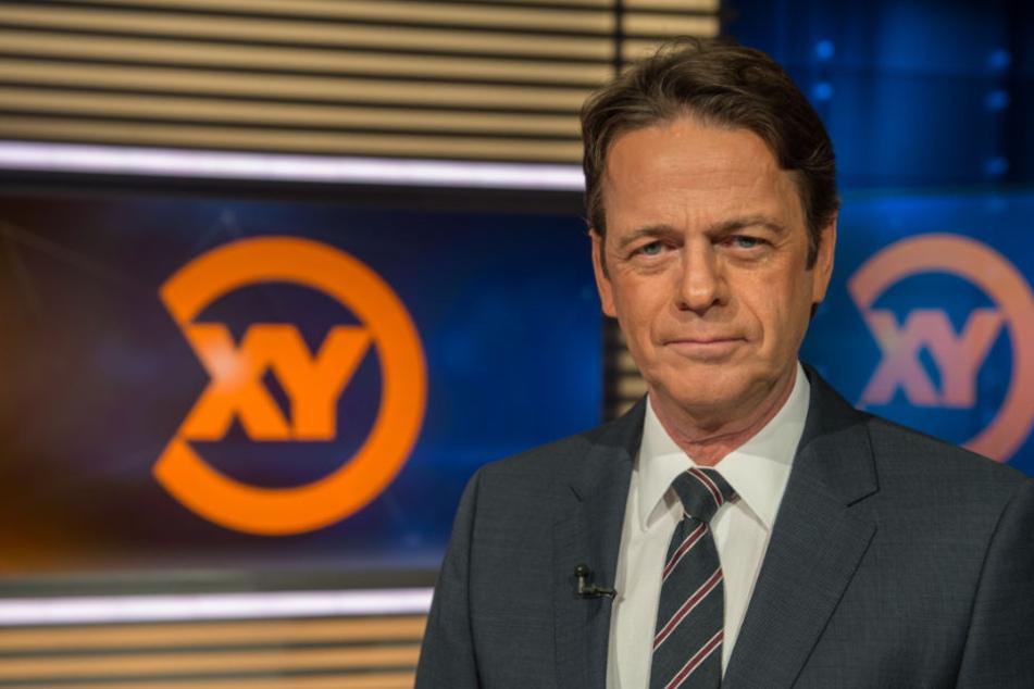 """Rudi Cerne (60) stellte den Fall am 9. Mai 2018 in seiner Sendung """"Aktenzeichen XY ungelöst"""" vor."""