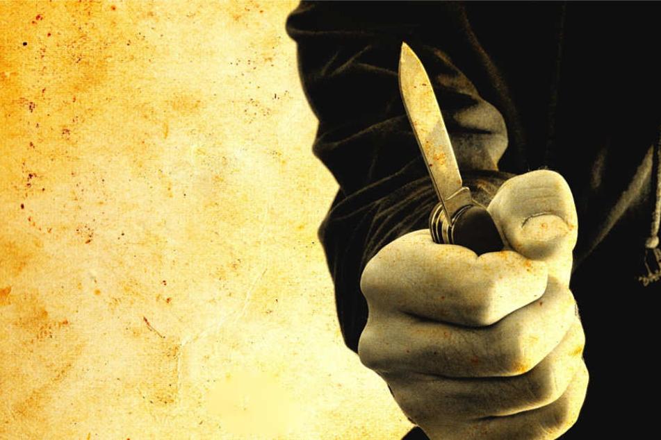 Eine 20 Jahre alte Frau wurde mit einem Messer verletzt (Symbolbild).