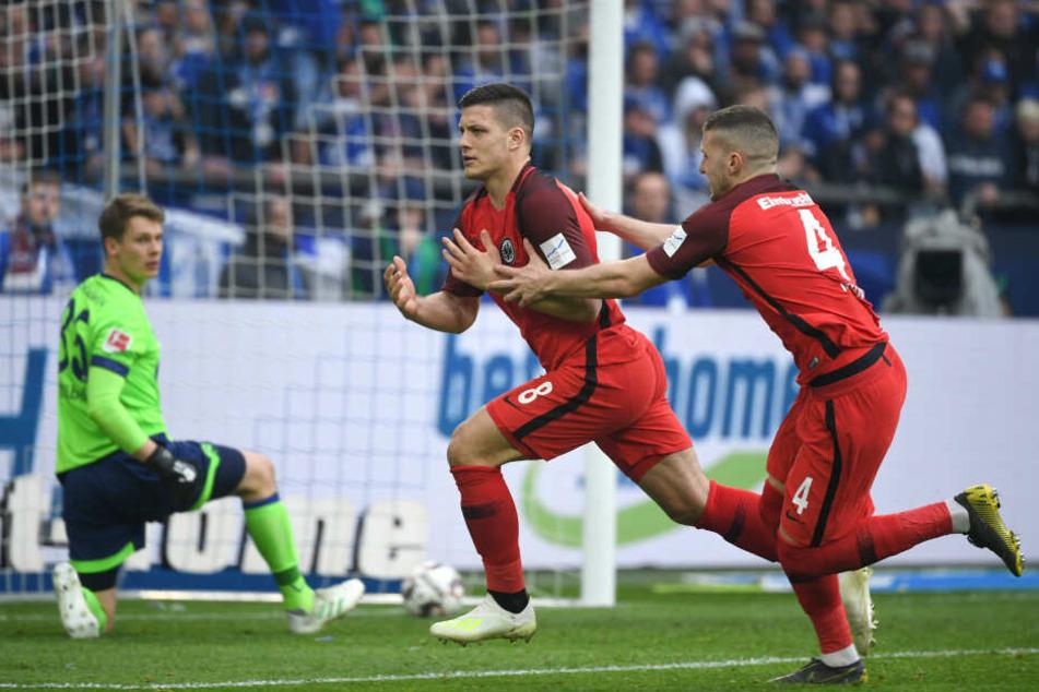 Netzte in der 99. Minute zum Sieg ein: Eintracht-Megatalent Luka Jovic.