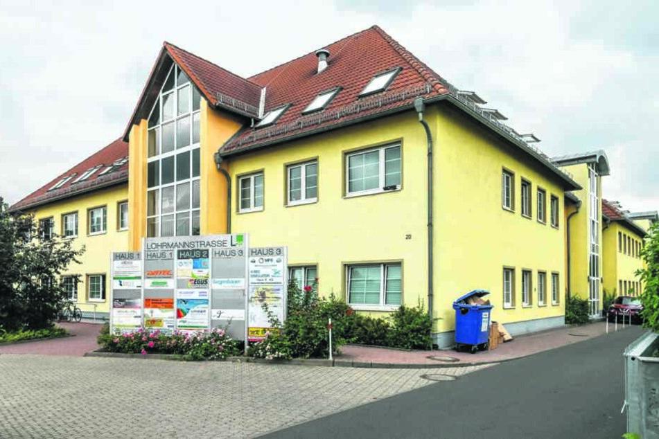 """In der Lohrmannstraße durchsuchte die Polizei das falsche """"Verkehrsamt"""" der Reichsbürger."""