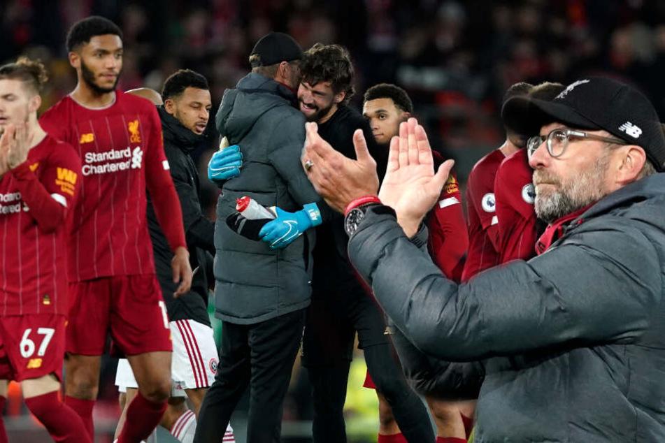 FC Liverpool mit Mega-Bestmarke: Klopp schreibt Zahlen der Superlative