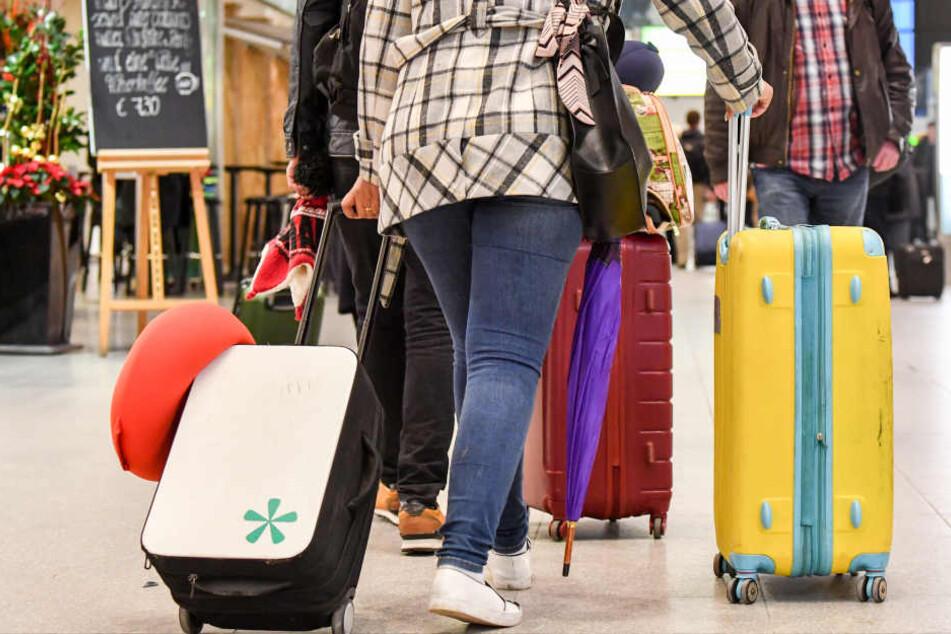 Über vier Millionen Fluggäste starteten in NRW.