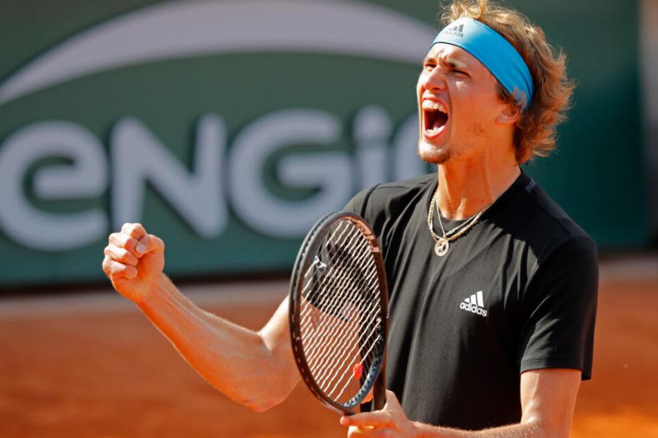 Der 22-jährige Alexander Zverev ist aktuell die Nummer fünf der ATP-Weltrangliste.