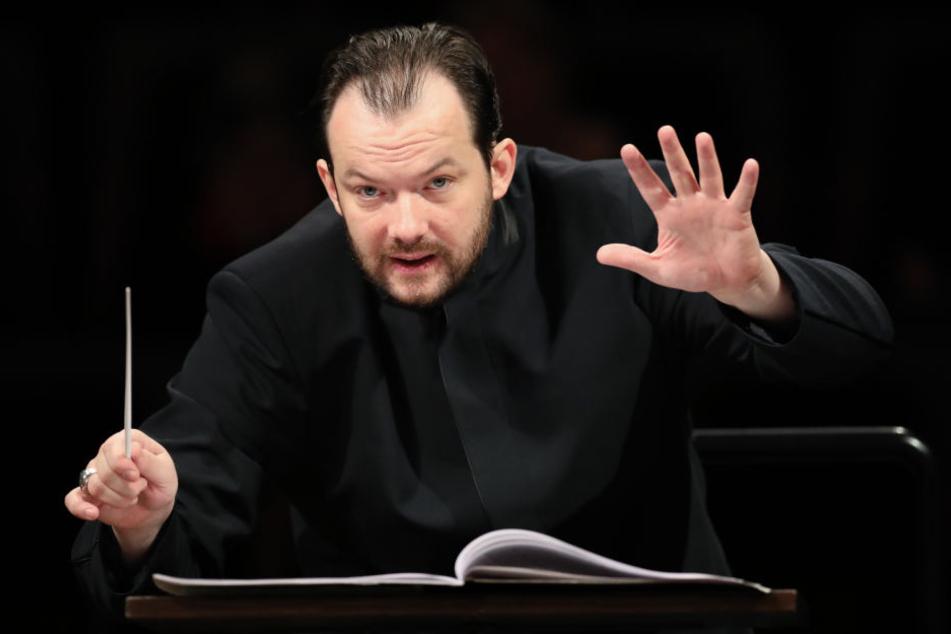 Wurde am Freitag mit einem Festakt offiziell in sein Amt eingeführt: Der neue Kapellmeister des Leipziger Gewandhauses, Andris Nelsons.