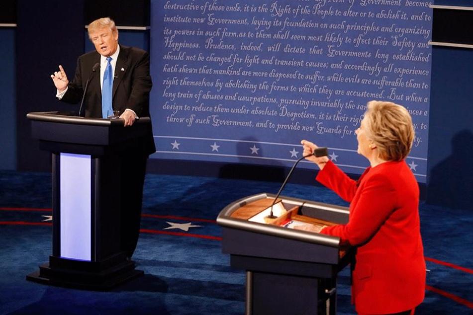 Mit ihren Redebeiträgen konnte Clinton laut einer ersten Umfrage 62 Prozent der Zuschauer überzeugen. Trump nur 27 Prozent