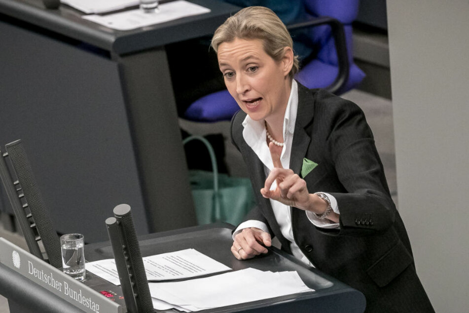 Baden-Württembergischer AfD-Landeschef Ralf Özkara forderte Fraktionschefin Alice Weidel (Bild) nach Spenden-Affäre zum Rücktritt auf.