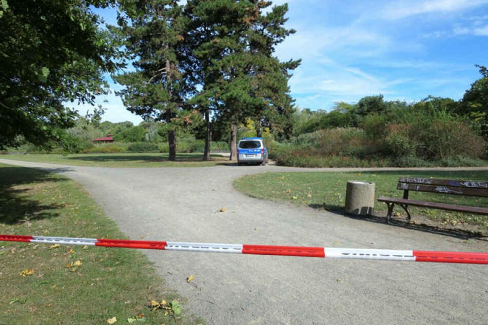 Das Leipziger Rosental - hier wurde vergangene Woche eine Joggerin brutal überfallen und sexuell missbraucht.