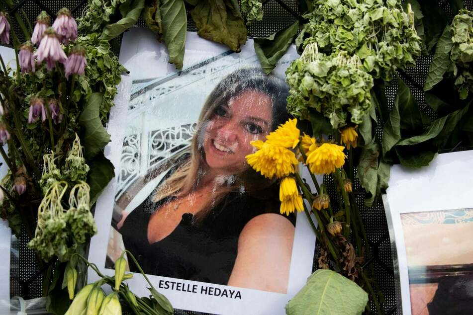 Estelle Hedaya (†54) lived on the sixth floor of the 12-story condominium complex.