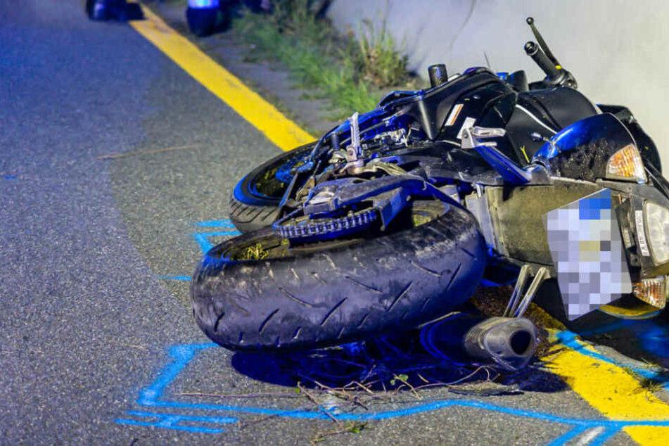 Rettungskräfte suchen Fahrer von Unfall-Motorrad auf A66, dann folgt der Horror-Fund