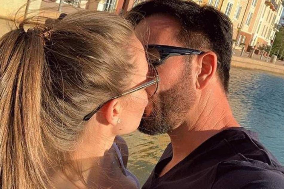 Michael Wendler (46) und Laura Müller (18) auf einem Insta-Selfie.
