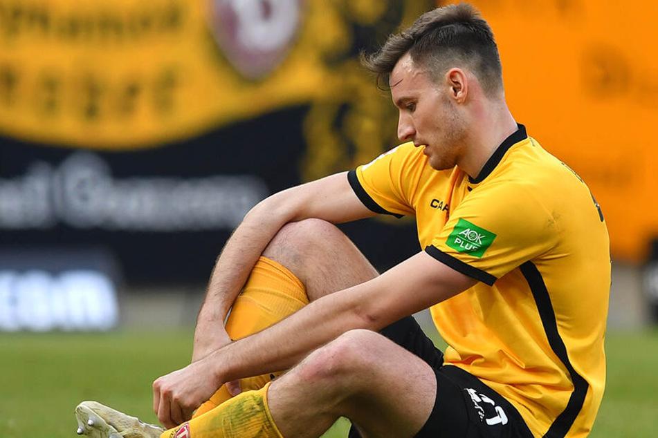 Gegen den SSV Jahn Regensburg verletzte sich Florian Ballas.