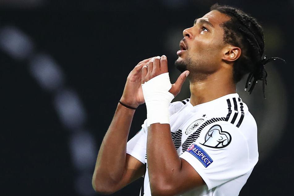 Serge Gnabry fehlt dem DFB-Team wegen muskulärer Probleme.