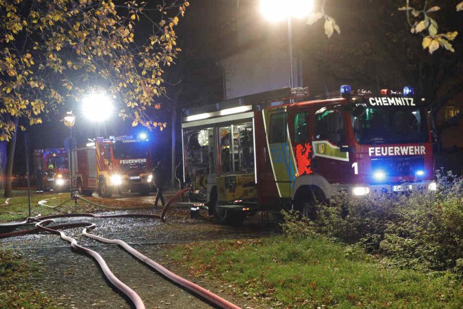 Feuerwehr-Großeinsatz am Dienstagabend in Gablenz.