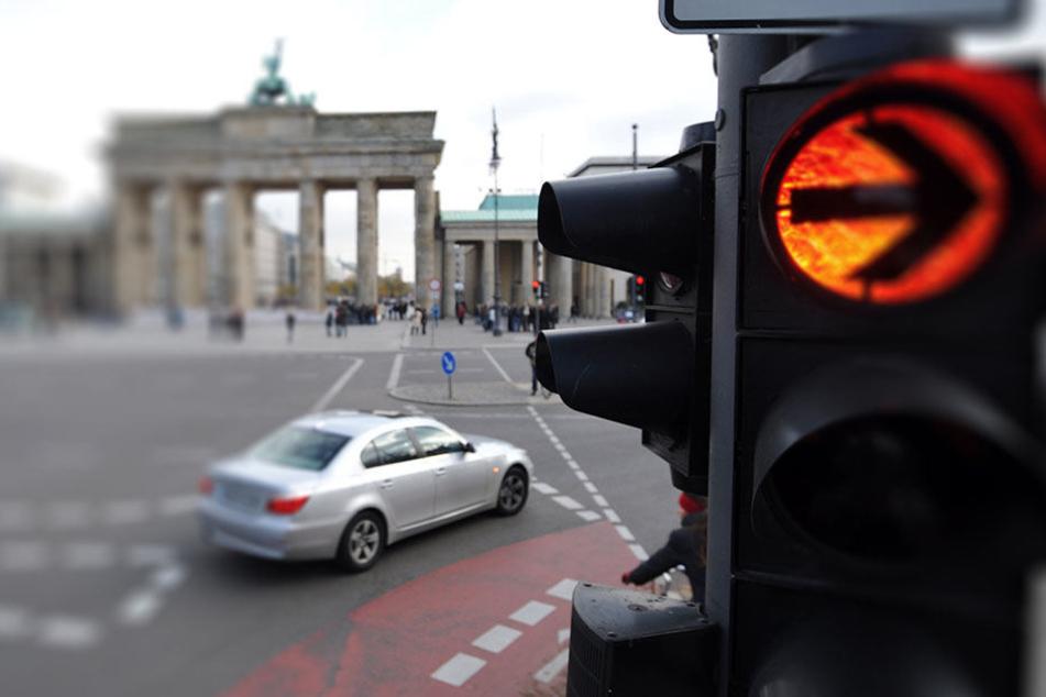 Die StVO ist immer mehr Berliner Autofahrern scheinbar nicht bekannt. (Symbolbild)