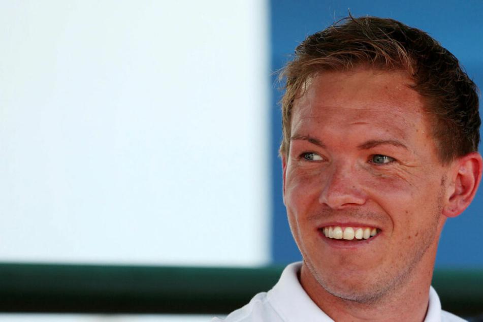 Will das letzte Testspiel gewinnen: RB Leipzigs neuer Trainer Julian Nagelsmann (32).