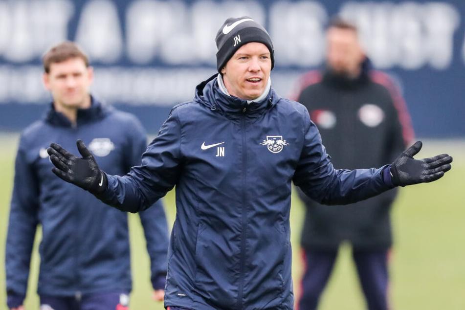 RB-Leipzig-Trainer Julian Nagelsmann will mit einem klaren Ziel in die Rückrunde starten: Platz eins bis vier der Bundesliga-Tabelle erreichen.