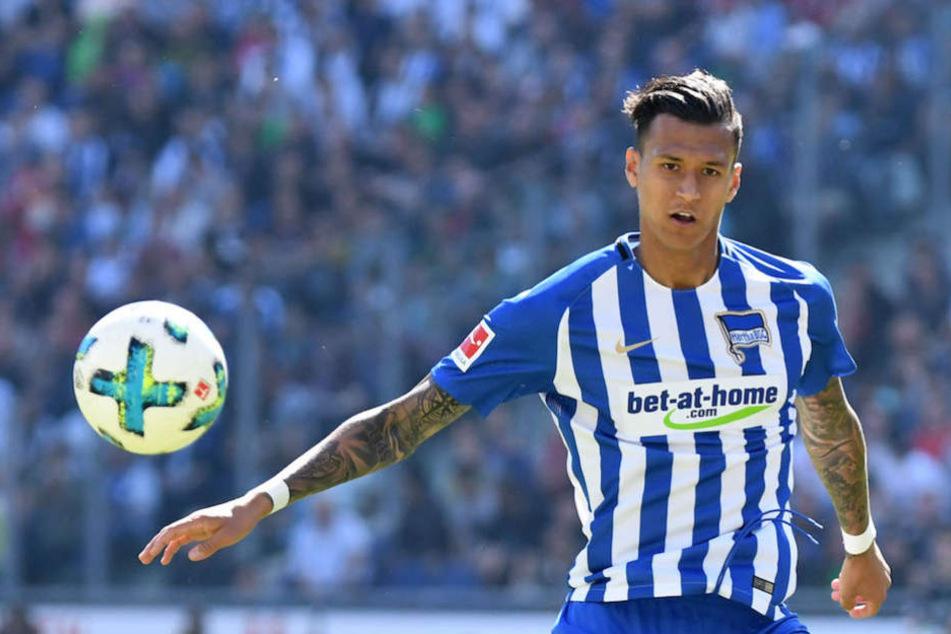 Davie Selke (23) hat als Fußballer noch Großes vor – nicht nur mit Hertha BSC.