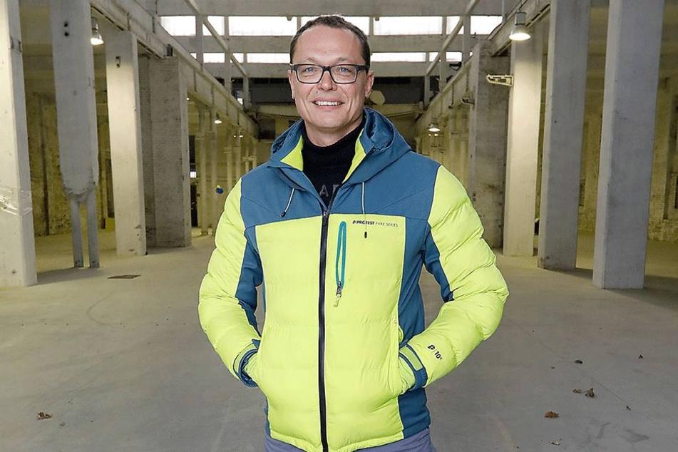 Investor Ralf Würzner (48) will der alten Hartmannfabrik wieder Leben einhauchen.