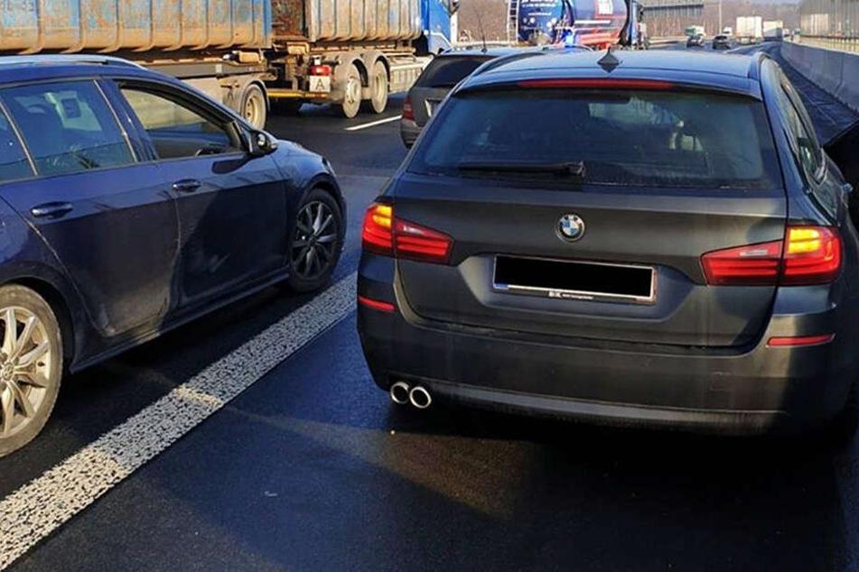 Wilde Verfolgungsjagden: Polizei spürt geklaute Autos auf