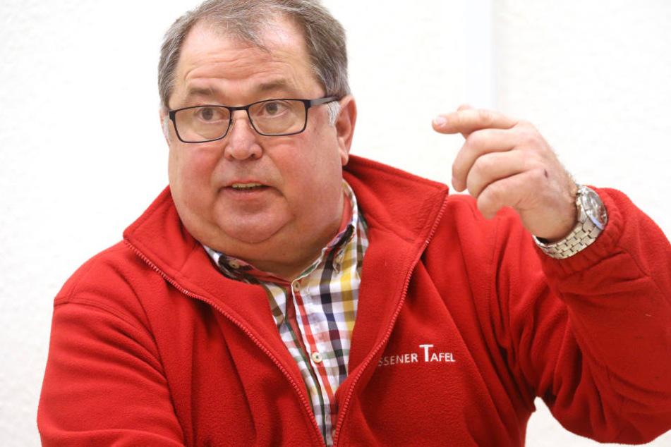 Jörg Sartor ist die Debatte um den Aufnahmestopp bei der Essener Tafel leid.