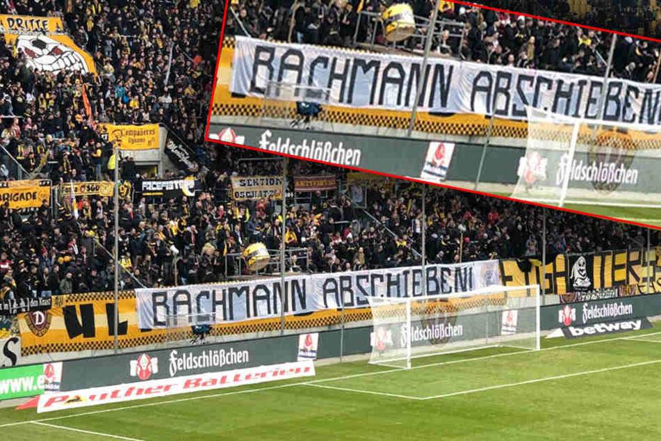 Dynamo-Ultras senden Botschaft an PEGIDA-Führer