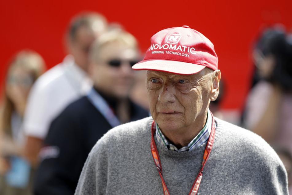 Niki Lauda: Sorgen um die neue Lunge der Formel-1-Legende