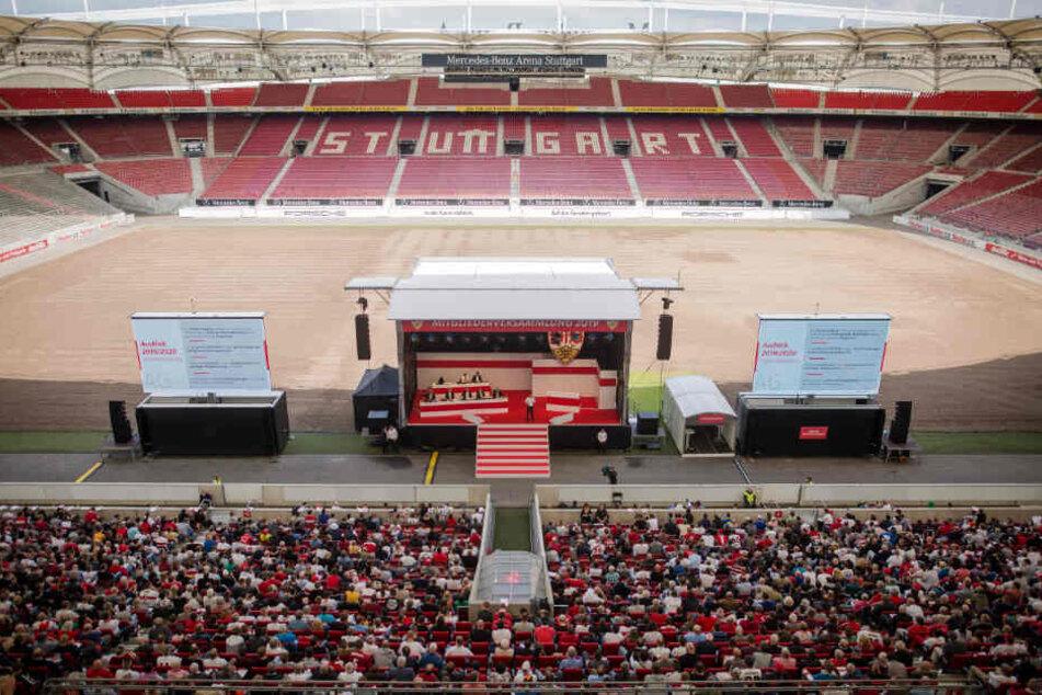 Mitgliederversammlung des VfB Stuttgart in der Mercedes-Benz-Arena.