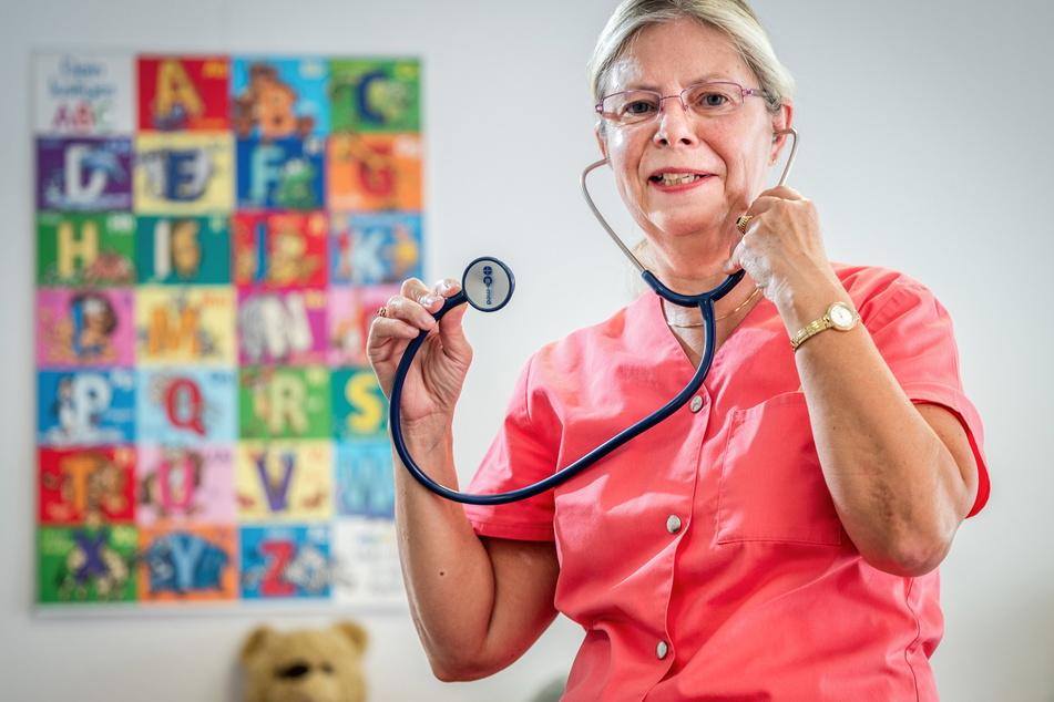 Kinderärztin Cornelia Haupt (63) hatte in ihrer Praxis seit dem Ende der Sommerferien keinen einzigen Corona-Fall.