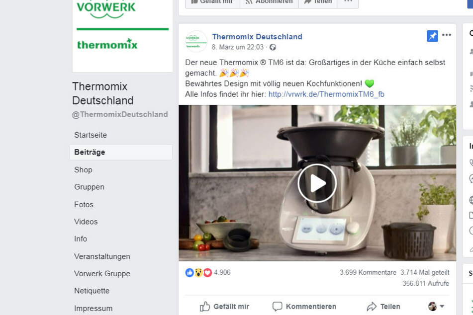 Hunderte Kommentare füllen seit Freitag die Spalten auf Facebook!