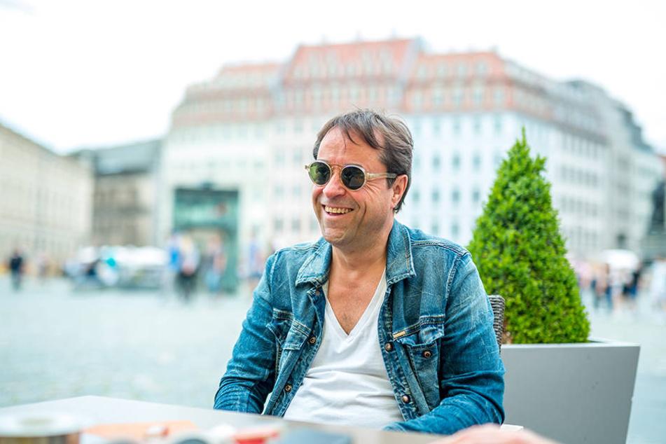 Jan Josef Liefers wuchs in Dresden auf und wohnt jetzt in Berlin.
