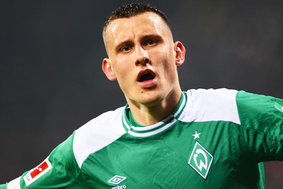 Seine DFB-Nominierung war überfällig: Maximilian Eggestein spielt beim SV Werder Bremen eine starke Bundesliga-Saison.