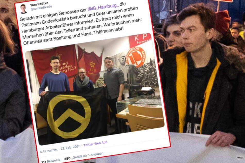 Nazi-Panzer, Klima-Holocaust und dieses Foto: Wie rechts ist Tom Radtke?