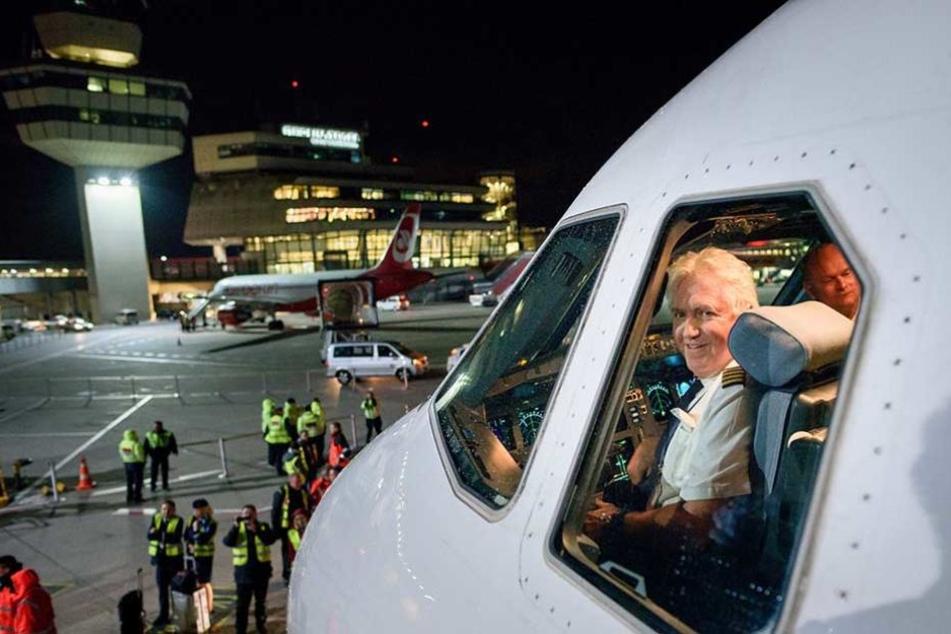 Der Pilot der letzten Air-Berlin-Maschine: David McCaleb.