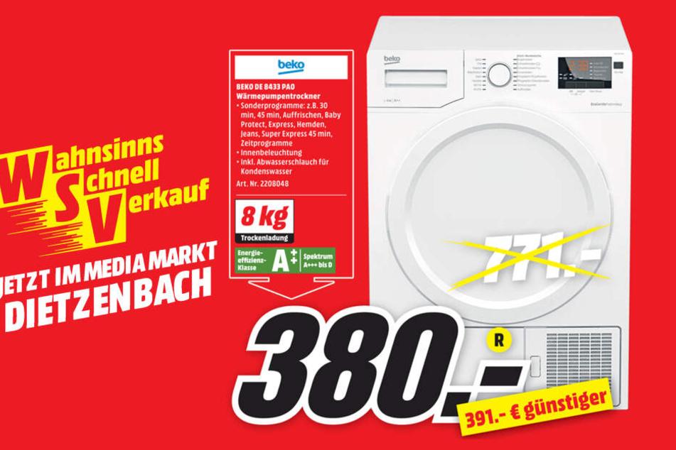 Trockner Von Beko Fur 380 Statt 771 Euro