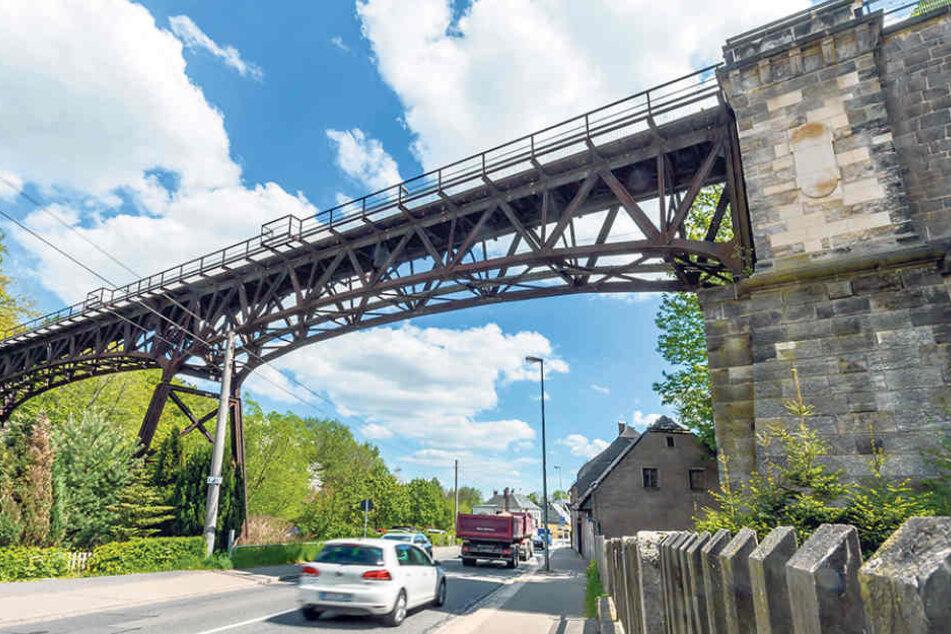 Für den Erhalt des Viadukts Rabenstein sind erhebliche Mittel nötig. Die Bürger, die dafür kämpfen, können diese große Last allein nicht stemmen.